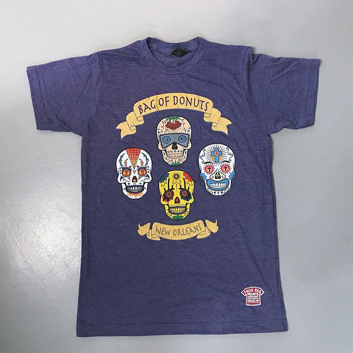 Skulls Unisex Purple