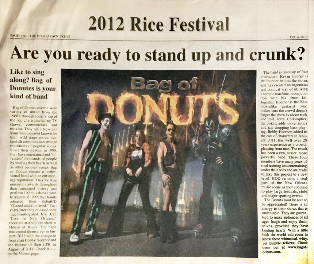 2012 Rice Fest
