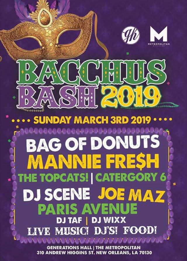 Bacchus Bash