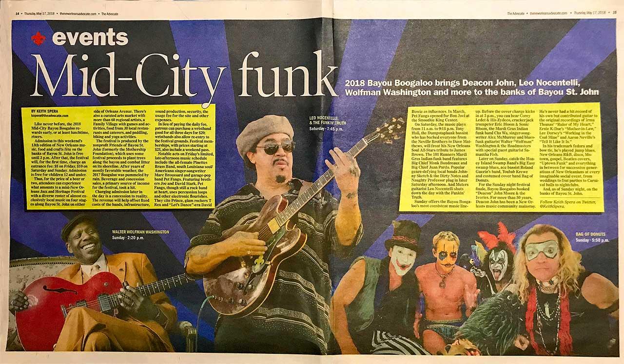 Mid-City Funk 2018 Bayou Boogaloo